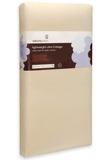 Lightweight Organic Cotton Ultra 2-Stage Crib Mattress (Lightweight Series)