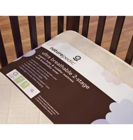 Naturepedic Ultra Breathable 2-Stage Organic Crib Mattress (Lightweight Series)