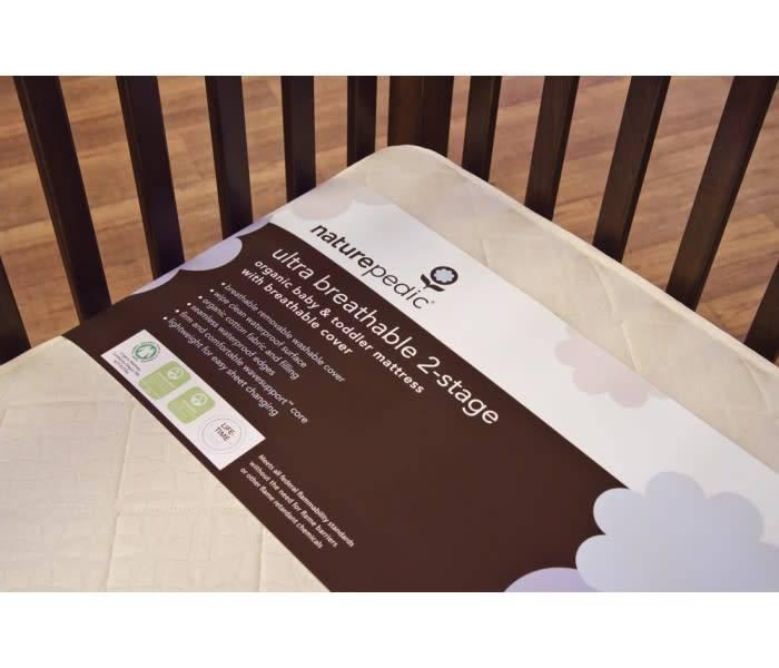 Ultra Breathable 2-Stage Organic Crib Mattress (Lightweight Series)