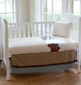 Organic Cotton Ultra Seamless Crib Mattress (Innerspring Series)