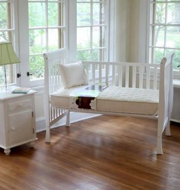 Naturepedic Organic Cotton 2 in 1 Ultra Quilted 252 Crib Mattress (Quilted and Breathable Series)