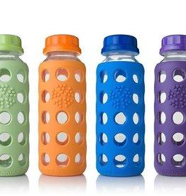 LifeFactory 9 oz Glass Bottle w/ Flat Cap
