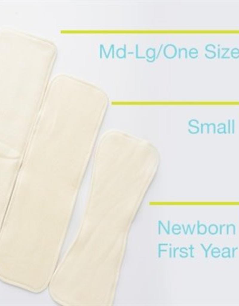 Fuzzibunz Organic Diaper Inserts
