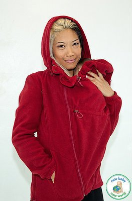 Tasku Babi Whole Mama Fleece- Cherry 44 (S)