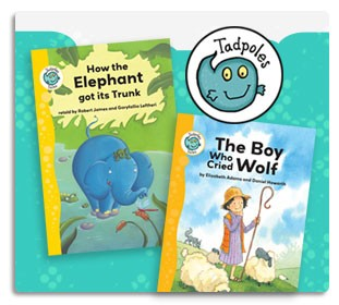 Crabtree Publishing Tadpoles Early Readers