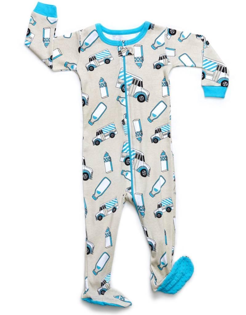 Milk Truck Organic pajamas