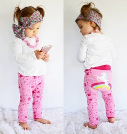 Doodle Pants Rainbow Unicorn Cotton Leggings