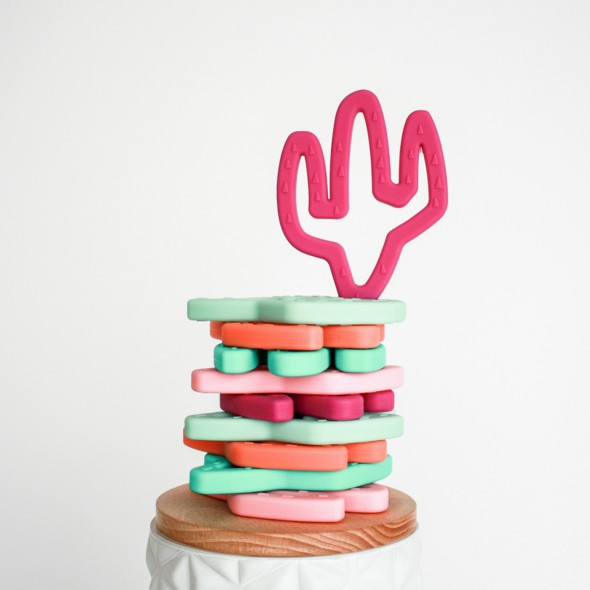 Little Teether Cactus Teething Toy