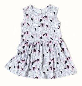Nohi Flamingo Tank Dress
