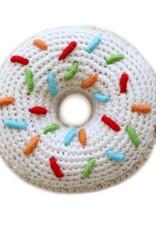 cheengoo Donut Hand Crocheted Rattle