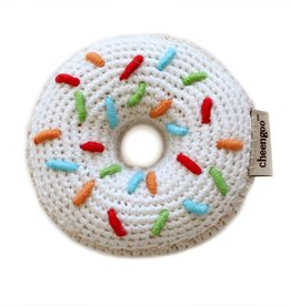 cheengoo Donut Hand Crocheted Rattle