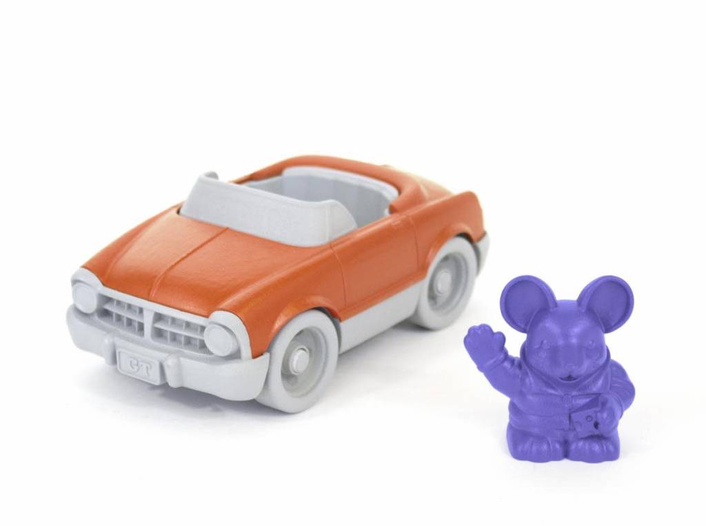 Green Toys Convertible with Mouse Character