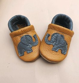 Starry Knight Design Applique Shoes Elephants