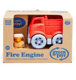 Green Toys Fire Engine & Character