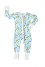 Little Sleepies Banana Convertible Romper/Sleeper
