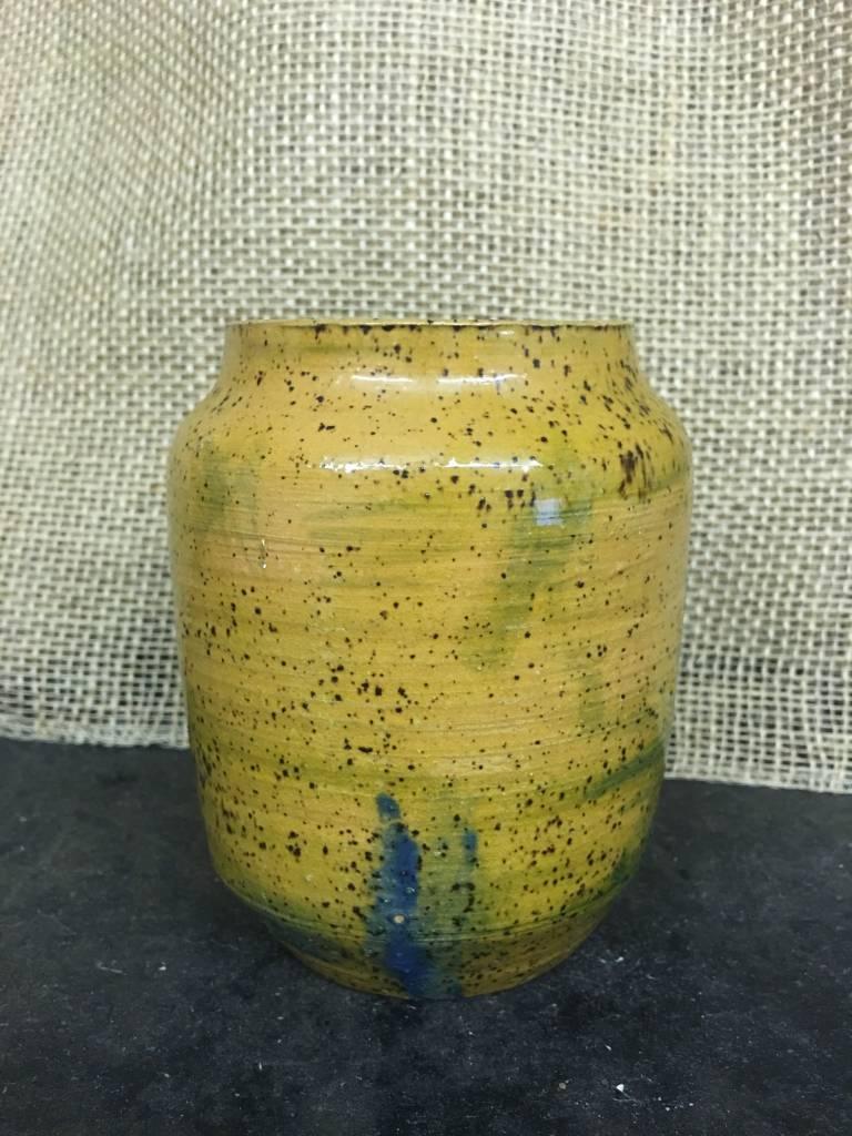 Ceramic Vase - Mustard