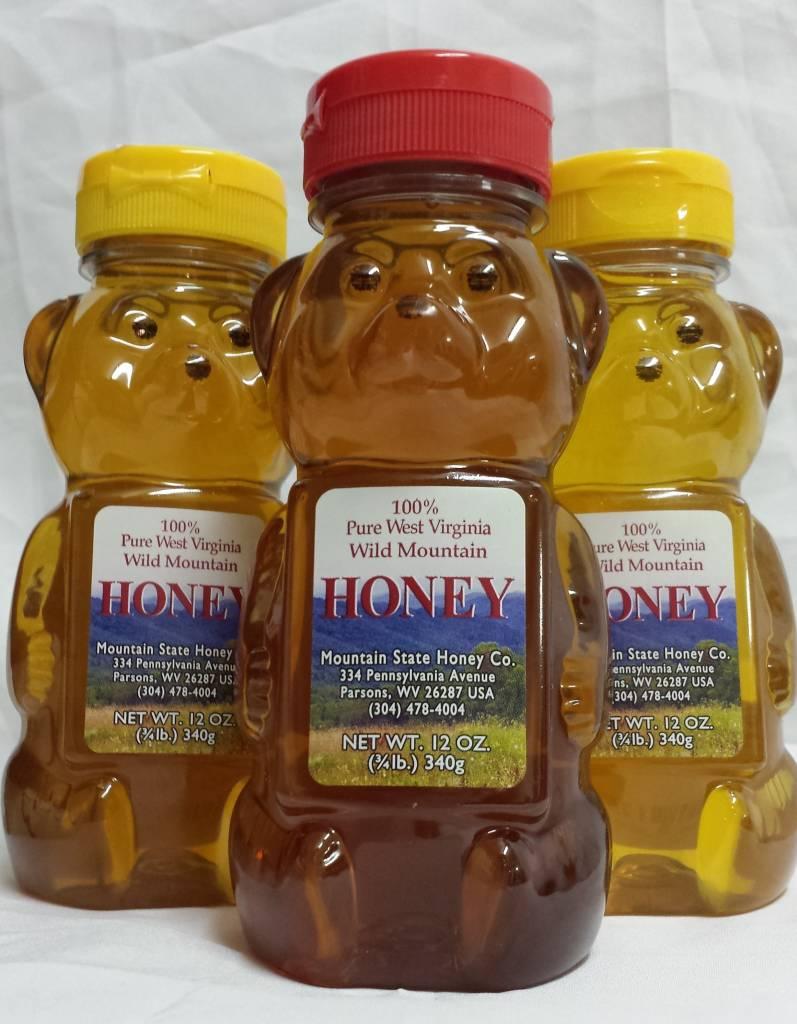 Mountain State Honey Company Mountain State Honey 12 oz. Sourwood Mix Bear