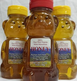 Mountain State Honey Company Mountain State Honey 12 oz. Goldenrod Bear