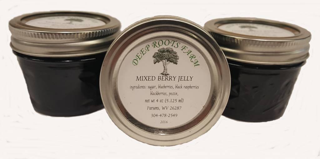 Deep Roots Farm Deep Roots Farm Mixed Berry Jelly