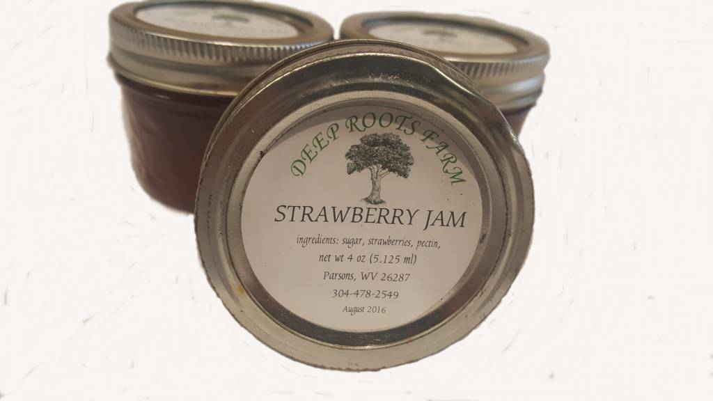 Deep Roots Farm Deep Roots Farm Strawberry Jelly