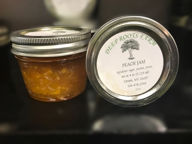 Deep Roots Farm Deep Roots Farm Peach Jam