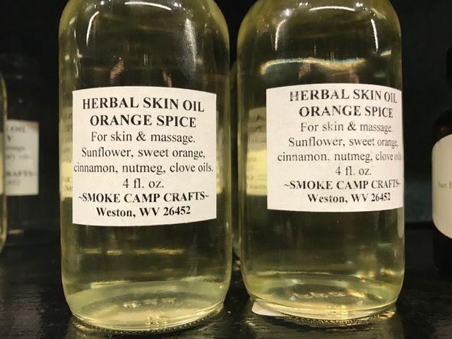 Smoke Camp Herbal Skin Oil-Orange Spice