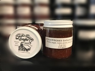 Smoke Camp Strawberry Banana Jam 5 oz.