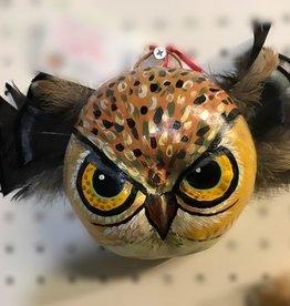 Maggi Rhudy Maggi Gourd Mask Fierce Owl