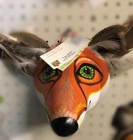Maggi Rhudy Maggi Gourd Mask Young Fox