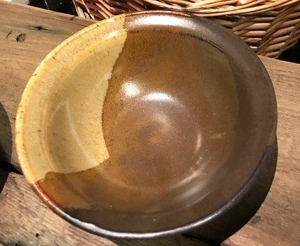 STAR Pottery Browns small Salad bowl