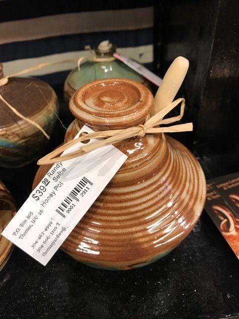 Randy Selbe Artisan Randy Selbe Honey Pot