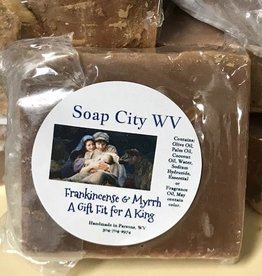 Soap City WV Frankincense & Myrrh