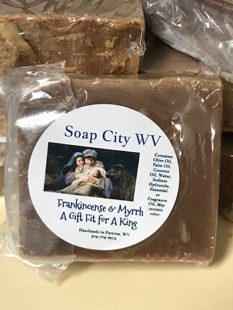 Soap City WV Frankincense & Myrrh