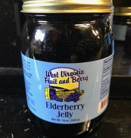 West Virginia Fruit and Berry West Virginia Fruit & Berry 20 oz. Elderberry Jelly Jar