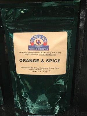 Larkin Orange Spice Tea