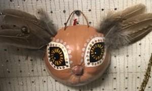 Maggi Rhudy Maggi Gourd Mask Bunny