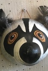 Maggi Rhudy Maggi Gourd Mask Rocky Raccoon