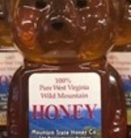 Mountain State Honey Company 12 oz. Tulip Poplar Bear
