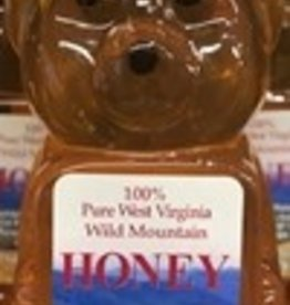 Mountain State Honey Company Mountain State Honey 8 oz. Goldenrod Bear