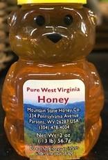 Mountain State Honey Company Mountain State Honey 2 oz.Locust Honey Bear