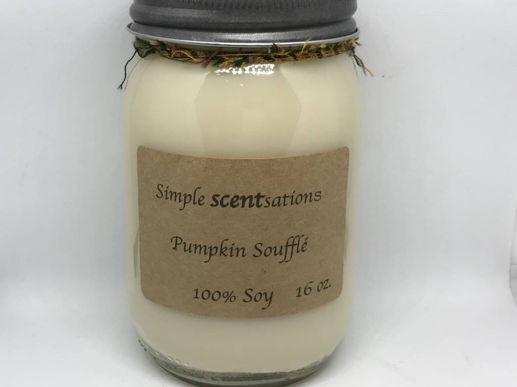 Simple Scentsation Pumpkin Souffle 16 oz