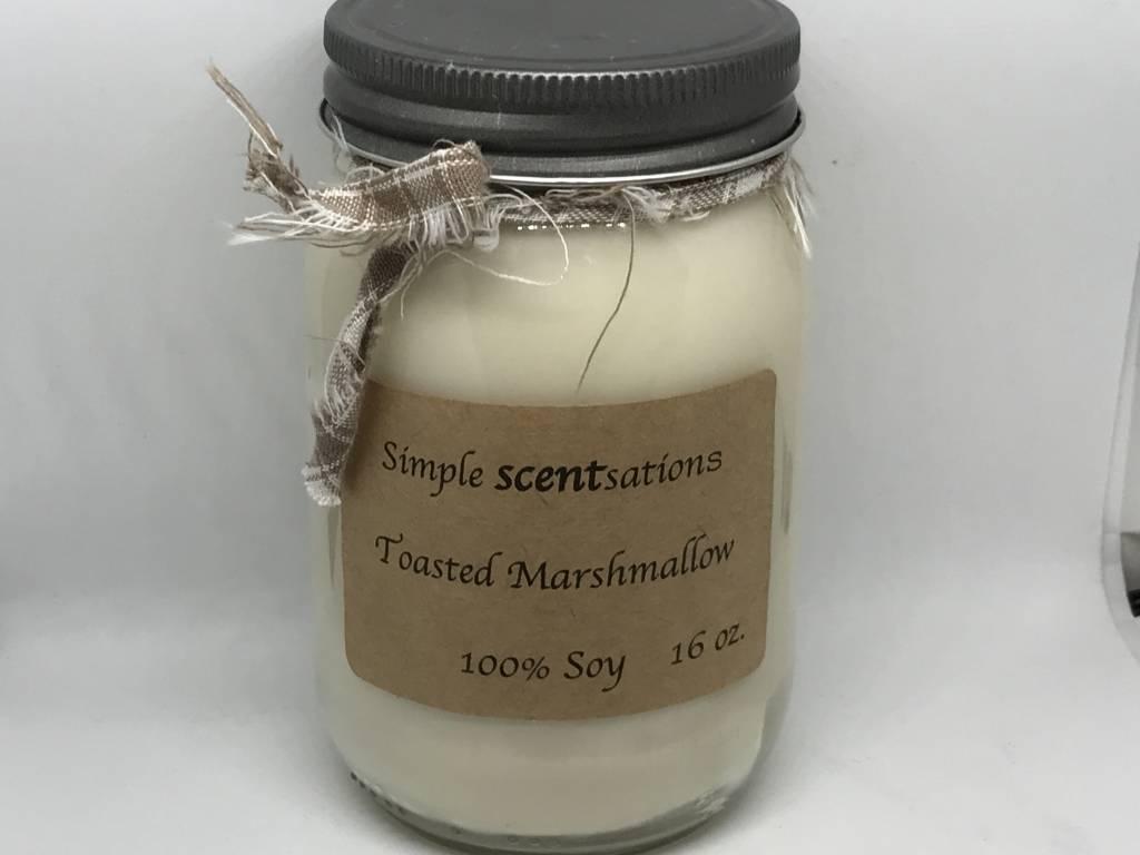 Simple Scentsation Toasted Marshmallow 16 oz