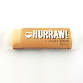 HURRAW! CHAI SPICE - single tube lip balm