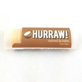 HURRAW! COCONUT - single tube lip balm