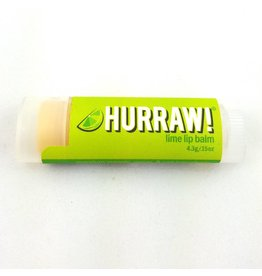 HURRAW! LIME - single tube lip balm