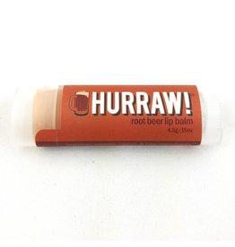 HURRAW! ROOT BEER - single tube lip balm