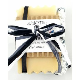 Windrift Hill Cool Water Soap with Cloth