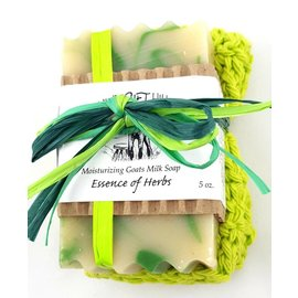 Windrift Hill Essence of Herbs Soap with Cloth