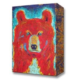 Metal Box Art Pendelton Bear