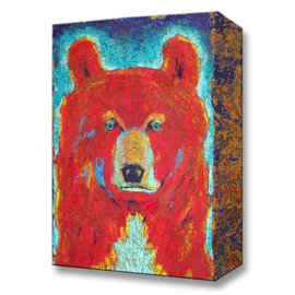 Metal Box Art Pendelton Bear